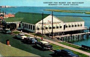 North Carolina Moorehead City Sanitary Fish Market and Restaurant