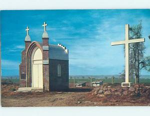 Pre-1980 CHURCH SCENE Colusa California CA L5467