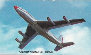 American Airlines 707 Astrojet airplane , 1960s