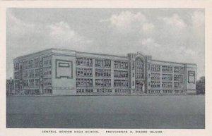 Rhode Island Providence Central Senior High School  Albertype
