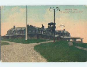 Divided-Back MASONIC HOME Charlton by Sturbridge & Auburn & Worcester MA ho3079
