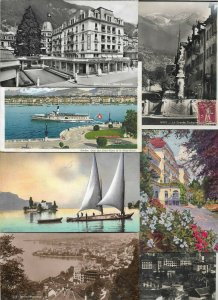 Switzerland Lac Leman Interlaken Sion Basel And More Postcard Lot of 21 01.05