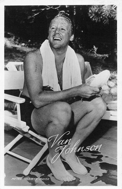 Van Johnson Film actor television actor and dancer