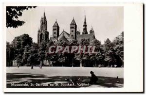 Postcard Modern Maastricht St Servaas in St Janskerk Vrijthof