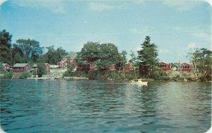 Postcard The Swedish Village, Lanconia, NH
