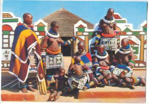 South Africa, Ndebele, near Pretoria, Transvaal, Artistic African tribe