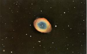 Ring Nebula in Constellation of Lyra (Astronomy)