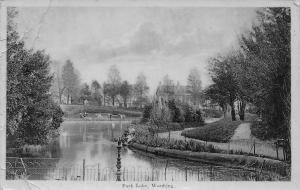 Worthing Park Lake Promenade 1910