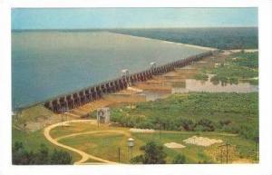 Santee Dam and Spillway, Lake Marion, South Carolina, 1940-60s