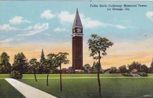 Georgia La Grange Fuller Earle Callaway Memorial Tower