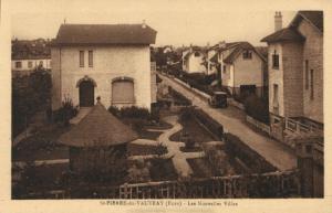 CPA St-PIERRE-de-Vauvray - Les Nouvelles Villas (160368)