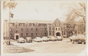 Michigan MI Real Photo RPPC Postcard c1930 MT PLEASANT Central Michigan College