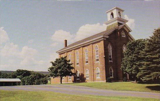 Massachusetts Salem Lutheran church Founded By Rev John Michael Enterline On ...