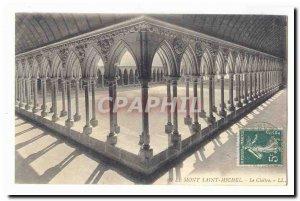 Le Mont Saint Michel Old Postcard The Cloister