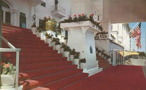 10719 Red Carpet Entrance Grand Hotel, Mackinac Island, Michigan 1958