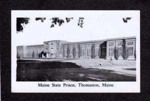 Me Maine State Prison Thomaston Maine Postcard Black & White PC