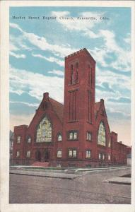 ZANESVILLE, Ohio, 1910-1920s; Market Street Baptist Church