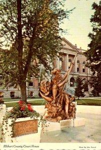 Indiana Goshen Elkhart County Court House