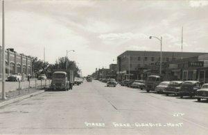 RP: GLENDIVE , Montana, 1930-40s ; Street