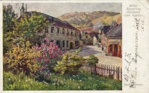 Wien  , Austria , PU-1912 ; Sievering Gasthaus zur Agnes