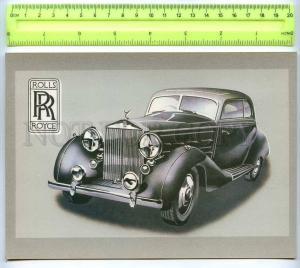 255501 LATVIA Tseplevich Retro car Rolls-Royce Wraith