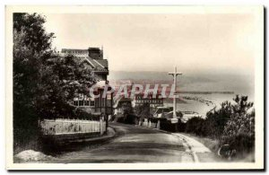 Old Postcard Trouville Queen of Beaches View Calvary taken to the beach