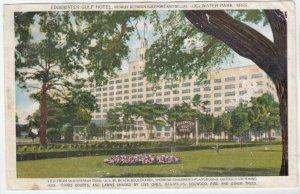 EDGEWATER PARK, Mississippi, 1910s; Edgewater Gulf Hotel