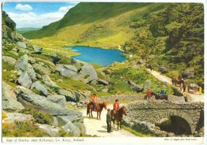 Ireland, Gap of Dunloe, near Killarney, Co. Kerry, 1971 used Postcard