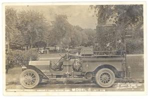 Montgomery AL New Fire Truck James Boyd RPPC Real Photo Postcard