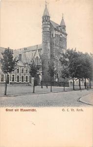 Netherlands Groet uit Maastricht, O.L. Vr. Kerk, Church, Kirche