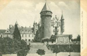 France, Busset, Alllier, La Chateau, early 1900s unused P...