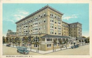 Atlantic City New Jersey~Galen Hall Hotel~1920s Vintage Cars~Postcard