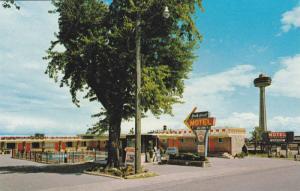 Exterior View, Swimming Pool, Your Host Motel, Niagara Falls, Ontario, Canada...
