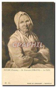 Postcard Old Duparc Francoise Ec Provencale Old Museum of Longchamp Marseille