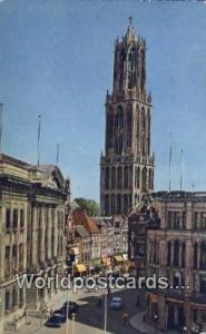 Utrecht Netherlands, Nederland Stadhuis en Dom Utrecht Stadhuis en Dom