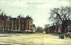 Hospital Square in Lewiston, Maine