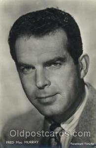 Fred MacMurray Actor, Actress, Movie Star, Postcard Post Card Actor Actress, ...