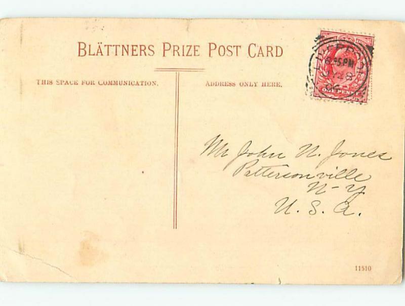 Pre-1907 COMMUNICATION ROLE Liverpool Uk hJ6536