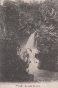 Tivoli Cascata Bernini Waterfall Antique Italian Postcard