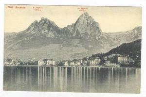 Kl. Mythen, Gr. Mythen, Brunnen, Lake Lucerne, Switzerland, 1900-1910s
