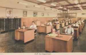 KALAMAZOO, Michigan, 40-60s; Kalamazoo Vegetable Parchment Co. Art Department