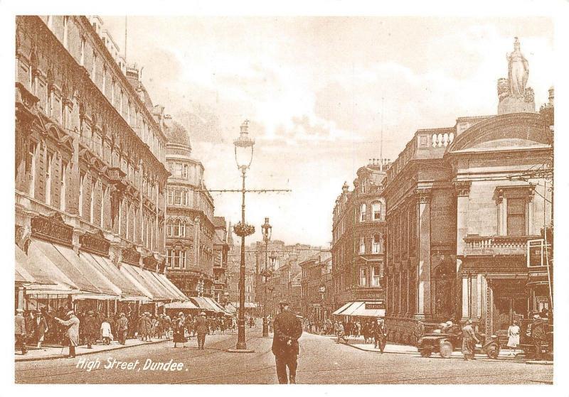 Dundee High Street Strasse Reprint