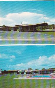Florida Winter Haven Shamrock Motor Lodge Cypress Gardens Road With Swimming ...
