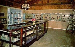 Kansas Mendota Time Was Village Museum Glass Slipper China Shop