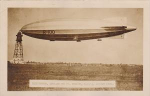 RP: Blimp R-100 , Cardington - St Hubert , Quebec , Canada , 1930 #2