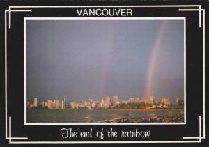 Rainbows in harbour , Vancouver , B.C. , Canada , 50-70s