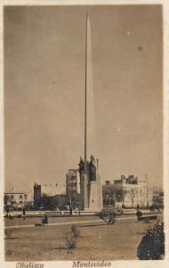 RP; MONTEVIDEO, Uruguay, 1920-40s; Obelisco