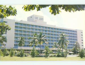 Unused Pre-1980 SAN JUAN INTERCONTINENTAL HOTEL San Juan Puerto Rico PR hr3392