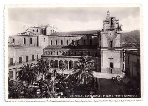 Italy Sicily Monreale Cattedrale Cathedral Piazza Emanuele