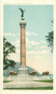 West Point Academy, New York Battle Monument 1901 Detroit Photographic Postcard